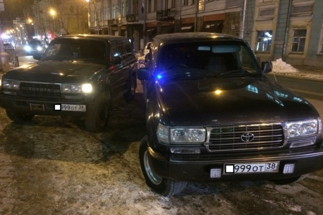 Полиция оштрафовала иркутянина за поддельный номер на автомобиле