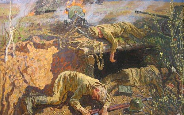Мельники были полностью взяты в плотное кольцо, но красноармейцы сопротивлялись еще 36 часов.