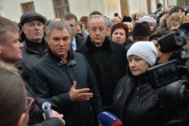 Валерий Радаев в Москве встр…