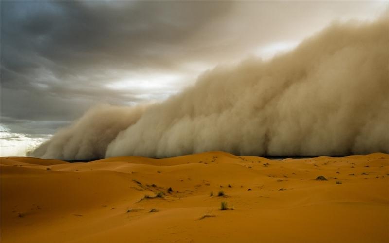 Внутри песчаной бури. Откуда приходит хабуб ветер,песок,песчаная буря,песчаный дьявол,Пространство,самум,хабуб