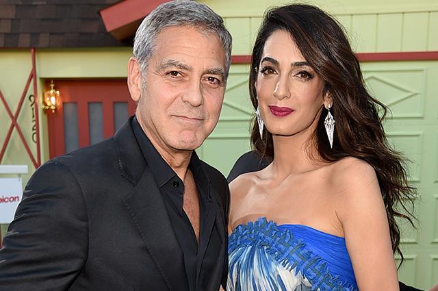 Джордж Клуни рассказал о жизни на карантине с женой Амаль и детьми