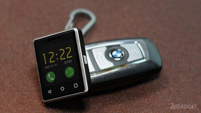 Выпущен самый маленький сенсорный телефон