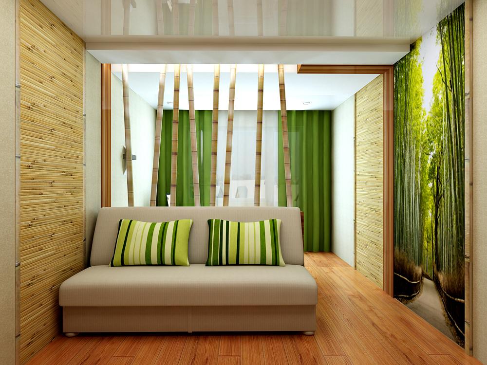 Бамбуковые обои в интерьере вашей квартиры - info oxo.