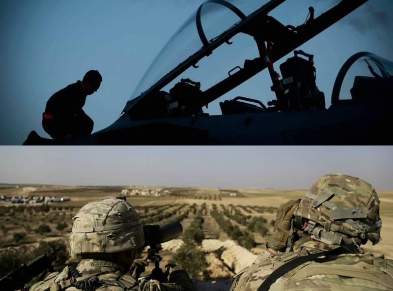 ВВС США «уходят в тень» перед ударом. События в Ат-Танфе пытаются спрятать за шумихой вокруг дела Скрипаля