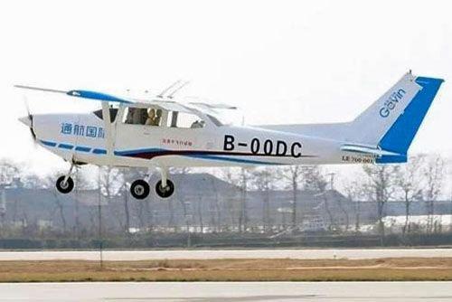 Первый полет китайской «цессны» Авиация